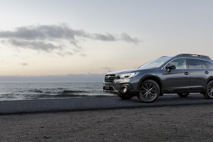 "The Subaru Outback X is a good-looking trailblazer and is certainly a head-turner with its black 18"" alloy wheels, front grille, wing mirrors and rear badging."