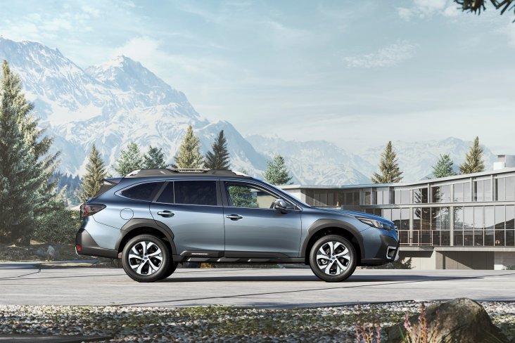 The new generation 2021 Subaru Outback Touring tops the range with premium specifications.