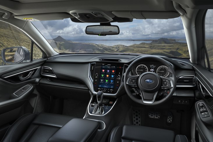 "The greatest Outback of all time features an 11.6"" touch screen infotainment system and Driver Monitoring System."