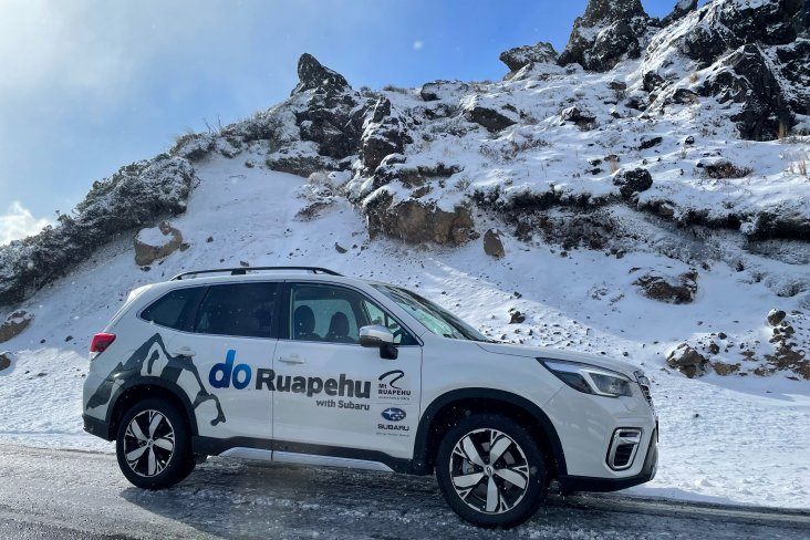 RAL's fleet of sign written Subaru SUVs include the previously crowned New Zealand Car of the Year, the Forester.