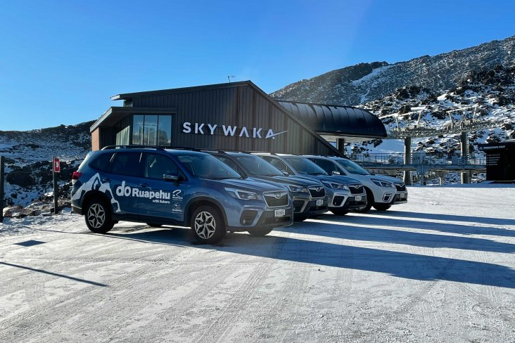 This winter marks 23 years of Subaru being the mountain's official vehicle partner.