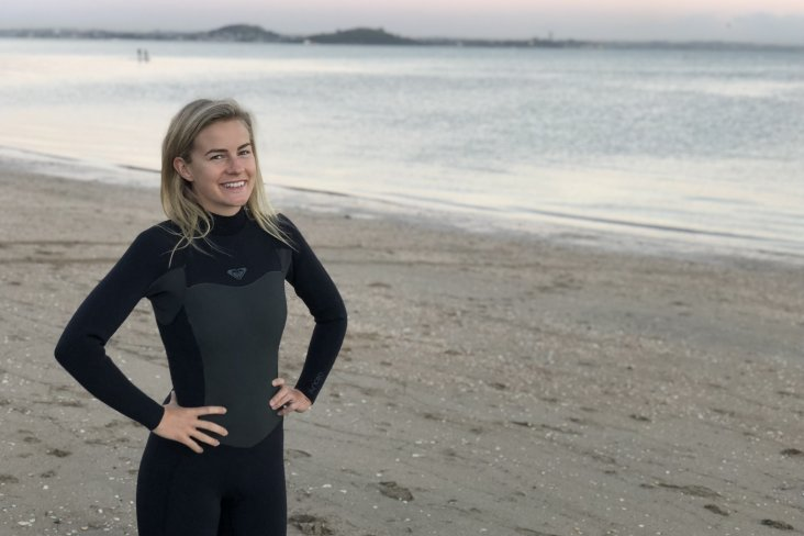 New Subaru brand ambassador Matilda Rice enjoys a healthy, balanced, active lifestyle.