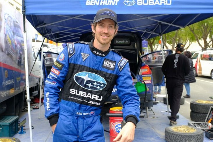 Subaru WRX STI driver Ben Hunt is looking forward to competing in two spectacular events this weekend. Photo: Geoff Ridder.