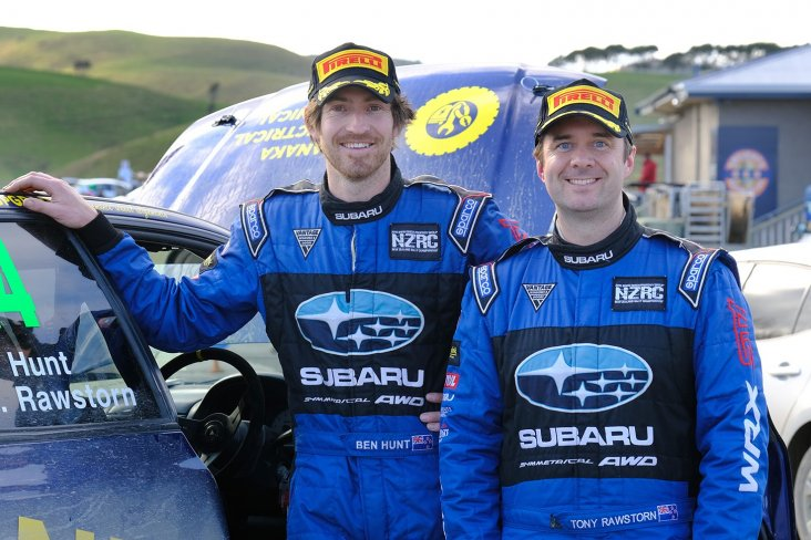 Ben Hunt and co-driver Tony Rawstorn will be teaming up again this weekend in the Subaru WRX STI. Photo: Geoff Ridder.