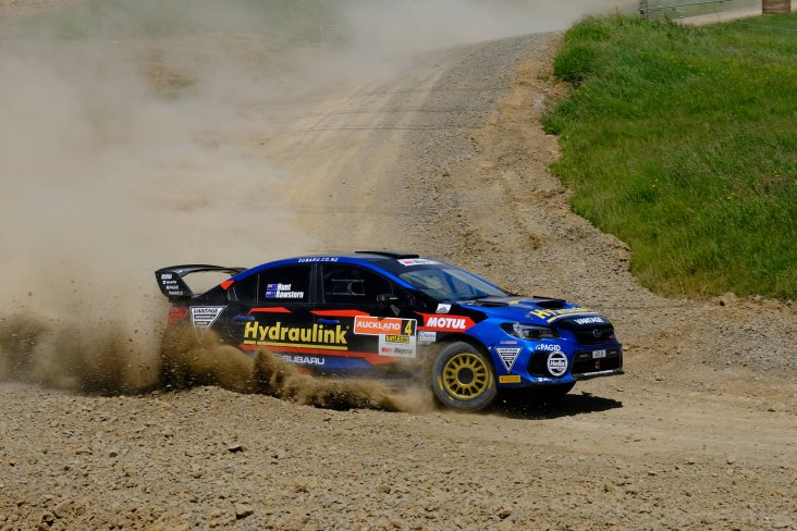 Subaru ambassador and defending national rally champion Ben Hunt has ensured his Subaru WRX STi is ready for the Otago Rally this weekend. PHOTO: GEOFF RIDDER