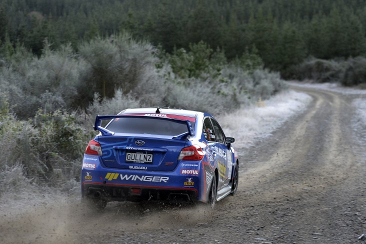 Subaru of New Zealand Brand Ambassador Ben Hunt and co-driver Tony Rawstorn are looking forward to contesting the Rally of Gisborne in their Subaru WRX STi on Saturday. PHOTO CREDIT: GEOFF RIDDER