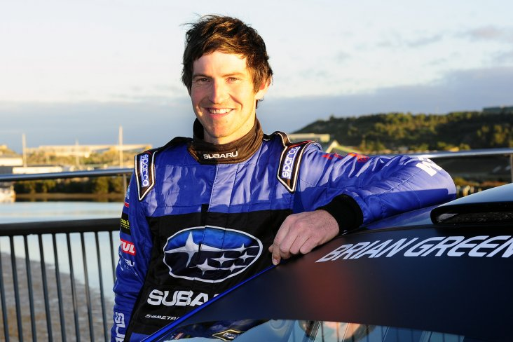 Subaru of New Zealand's Brand Ambassador Ben Hunt was awarded with the 2015 NZ Rally Gold Star Champion Driver trophy, plus the Rally Founders trophy at the recent MotorSport New Zealand's annual awards gala dinner in Wellington. PHOTO: GEOFF RIDDER.