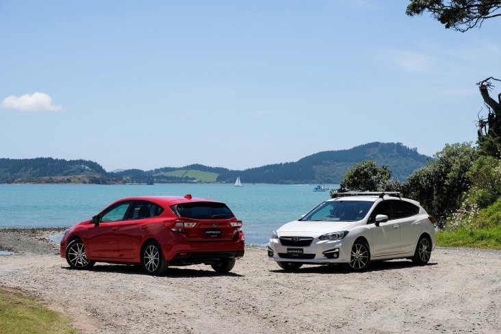 The Subaru Impreza 2.0 Sport is available in New Zealand for $29,990.