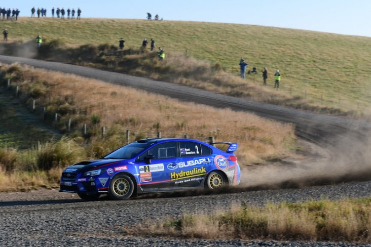 Ben Hunt and co-driver Tony Rawstorn have a highly competitive package in their Subaru WRX STi for the 2018 Brian Green Property Group New Zealand Rally Championship. PHOTO: GEOFF RIDDER