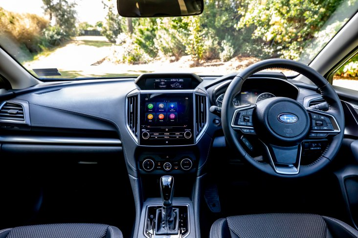 The 2020 Subaru Impreza has a roomy interior despite being Subaru's entry model.
