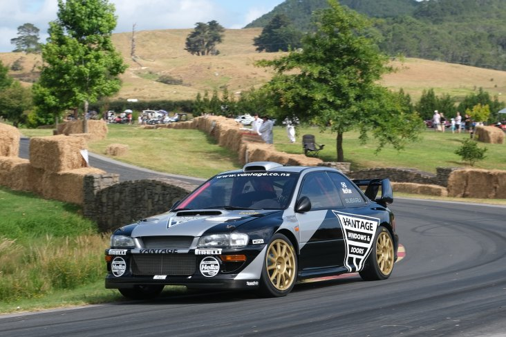 The Vantage Subaru at the 2019 Leadfoot Festival.