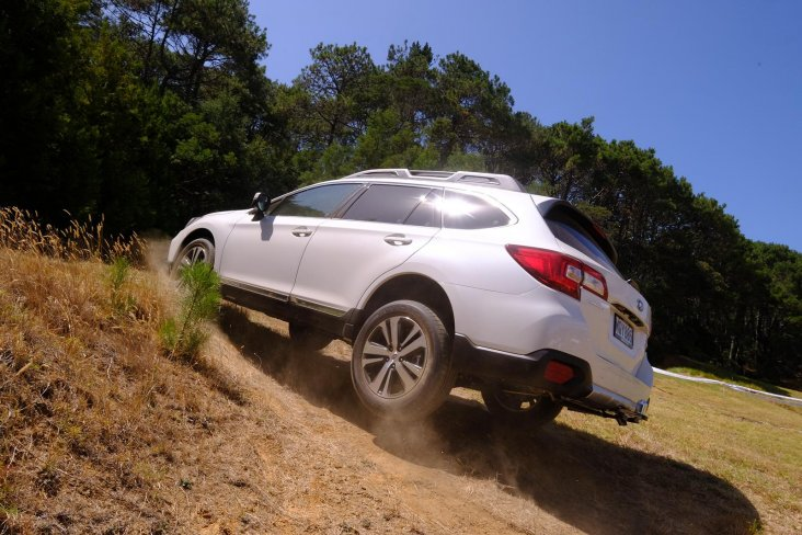Subaru had three SUVS – the Forester, Outback and XV – out on the off-road SUV track, where many festival-attendees tested their All-Wheel Drive capabilities.