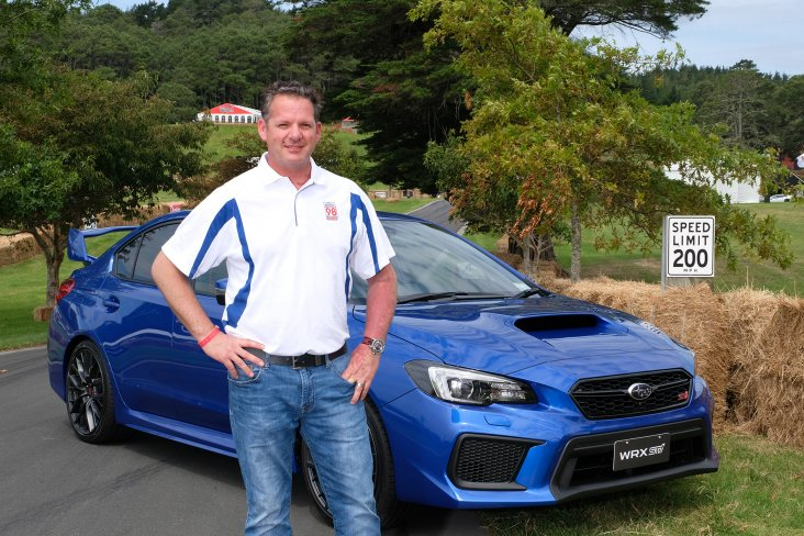 Head to Subaru's new Facebook page to see eight-time Pikes Peak International Hill Climb winner Paul Dallenbach taking a Subaru WRX STi for a spin up the Leadfoot Festival driveway. PHOTO: GEOFF RIDDER