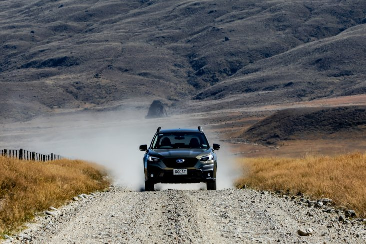 All of Subaru New Zealand's 16 locally-owned and operated Authorised Subaru Centres only stock NZ new AWD Subarus, like the 2021 Subaru Outback.