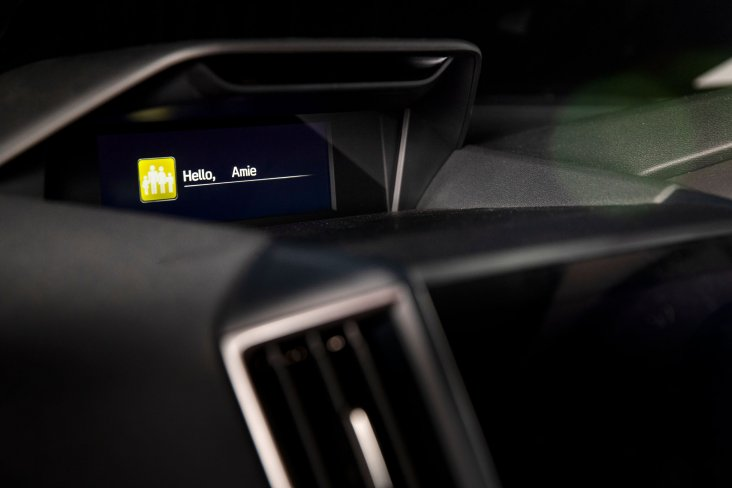 The clever new Forester SUV debuts with Subaru's first-ever Driver Monitoring System (DMS) which sets driver preferences for seat position, door mirrors, air-conditioning and some instrument displays using facial recognition technology.