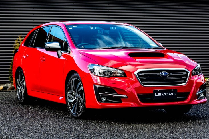 The MY18 Subaru Levorg