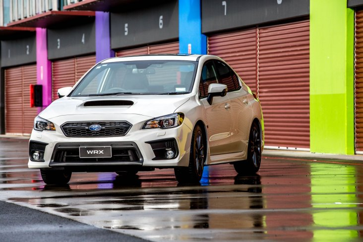 The MY18 Subaru WRX