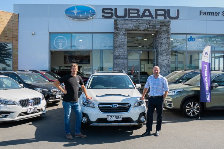 Subaru NZ's authorised dealership Farmer Autovillage has partnered with the Movember Foundation to supply the men's health charity's team with Subaru Outbacks.