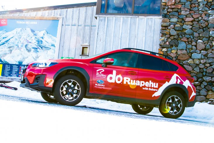 The RAL team drive a fleet of All-Wheel Drive Subarus, which get them safely up and down the mountain.