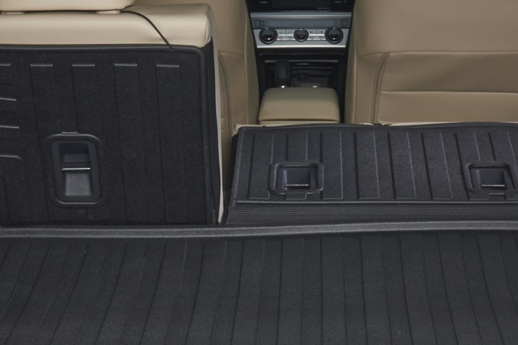 Rear seat back protector