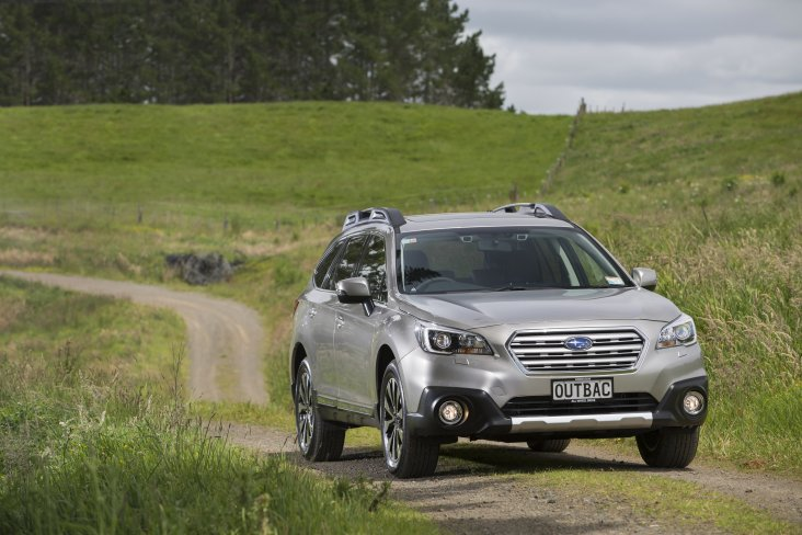 The popular Subaru Outback helped Subaru of New Zealand achieve its record sales year.