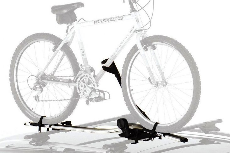 Bicycle holder Upright