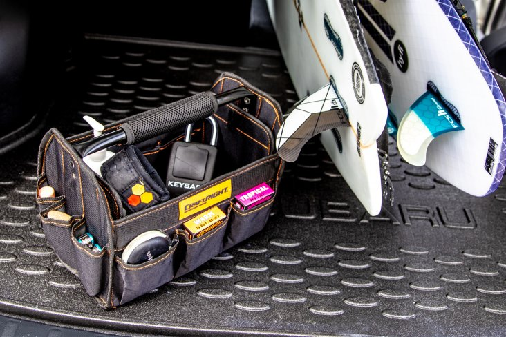 SURF2SURF's surfing toolkit for your Subaru
