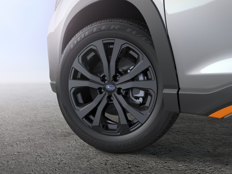 "Forester 18"" black alloy wheels"