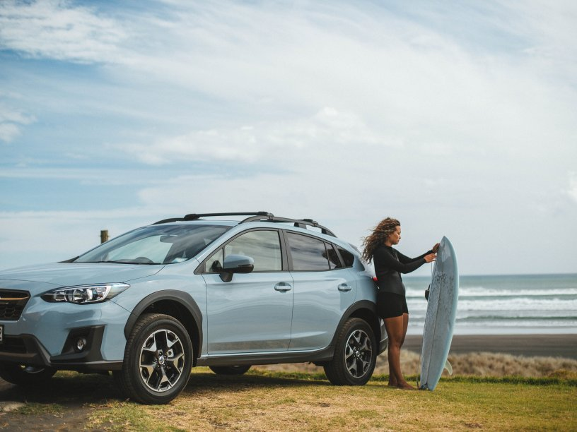 Subaru XV from the Subaru SUV range helps you do extra