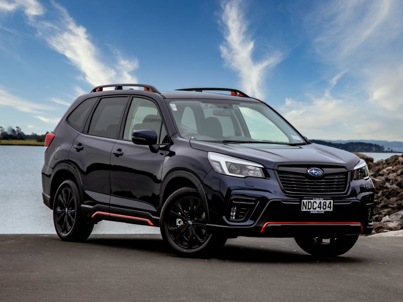 Forester X Sport exterior
