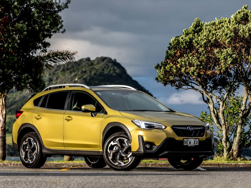 The 2021 Subaru XV is now in bloom in the spectacular Plasma Yellow Pearl.