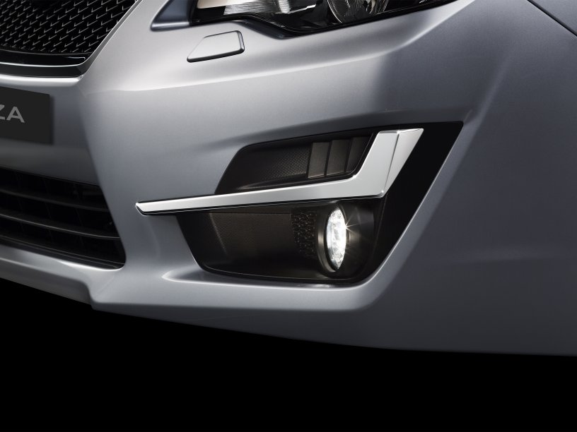 Impreza front fog light