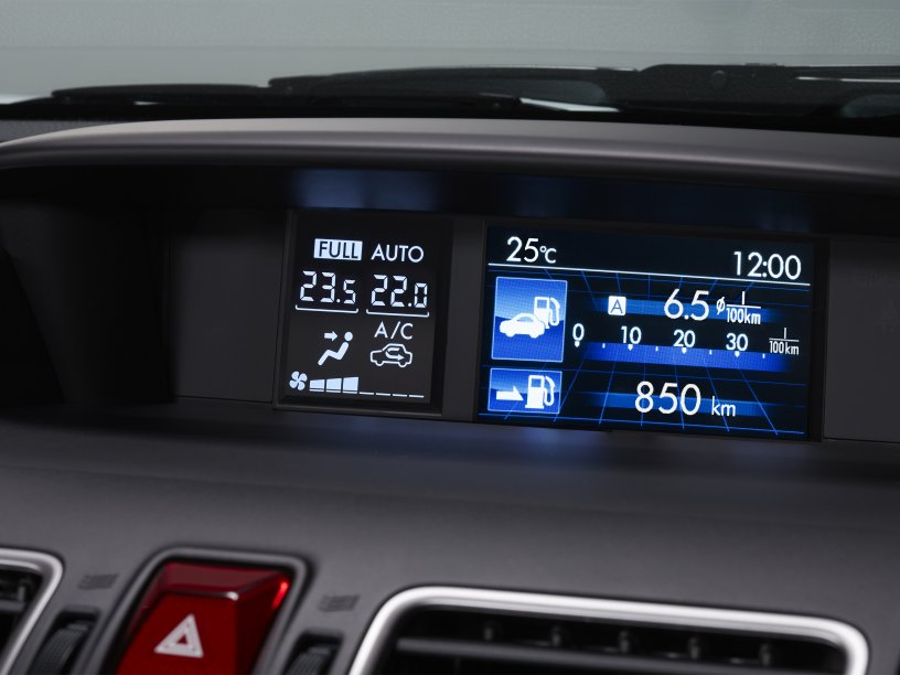 Impreza Multi Function Display Unit