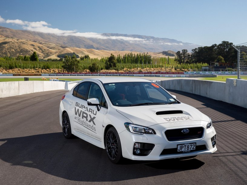 Subaru WRX at Highlands. Photo credit Highlands Motorsport Park