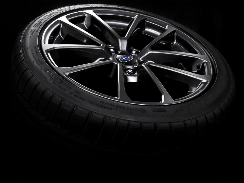 WRX 18 inch alloy wheels