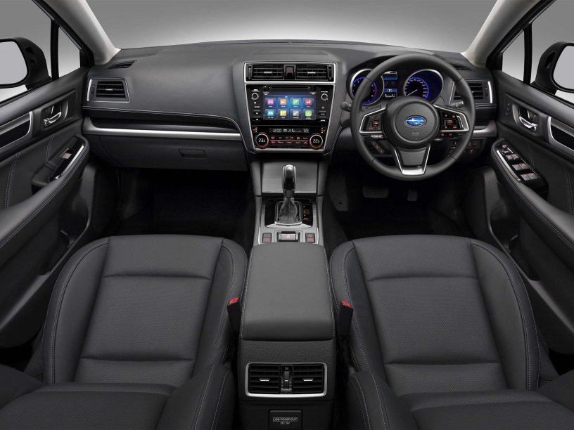 The 2018 Subaru Outback 3.6R Premium interior.