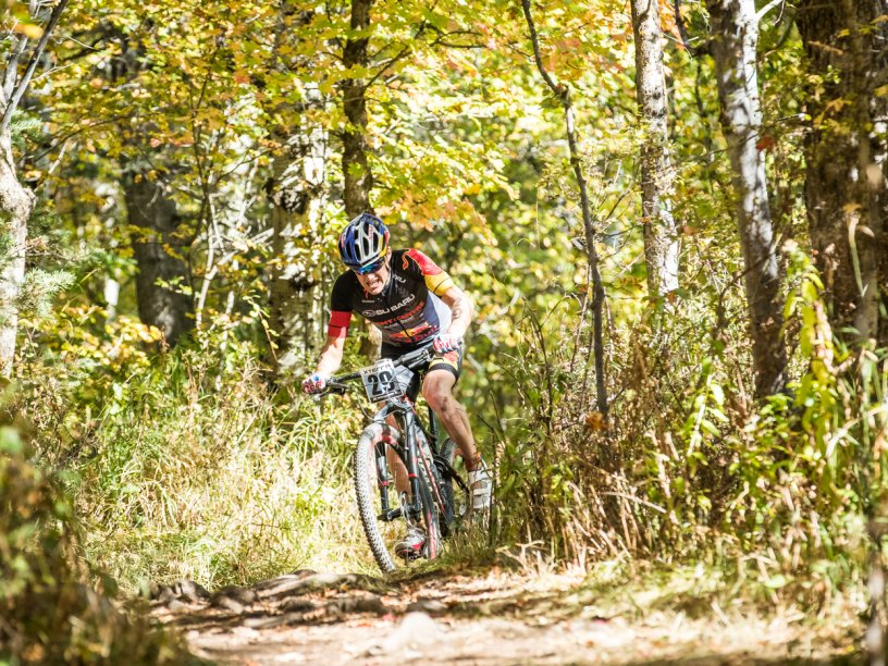 Currie at XTERRA Pan Am Championships Utah 2016. Photo credit Jessie Peters