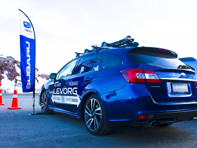 The All New Subaru Levorg at Top Weekend