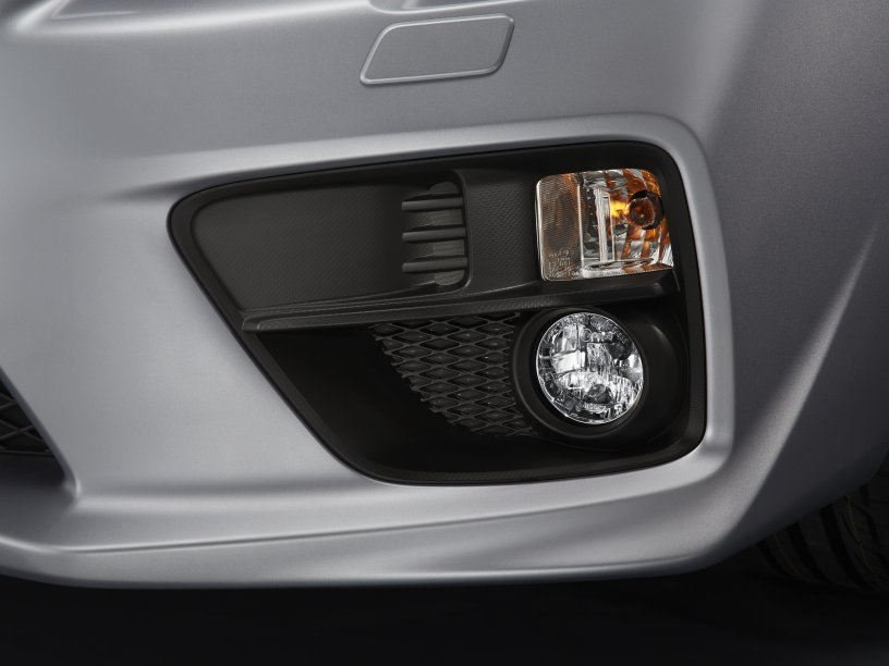 WRX STI fog lamps with DRL