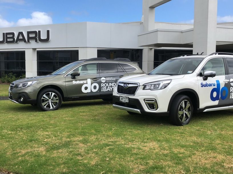 Subarus official vehicle supplier