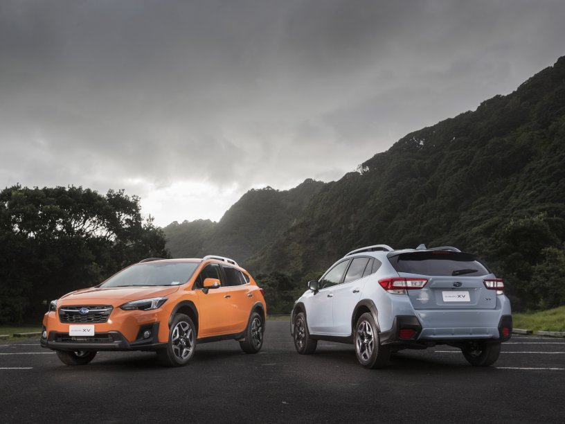 All new Subaru XV Premiums exterior