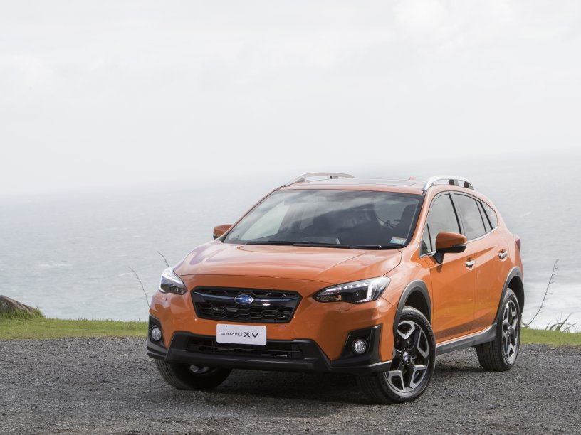 XV Premium sunshine orange exterior