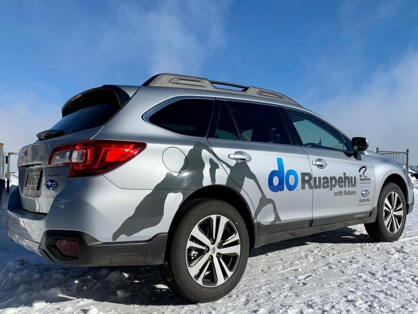 Subaru are the official vehicle partner of RAL