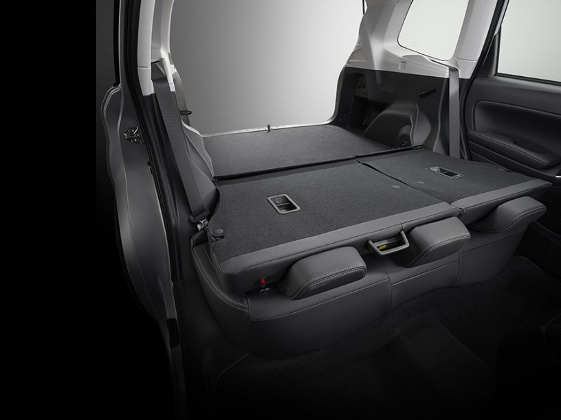 Forester one touch folding seats full
