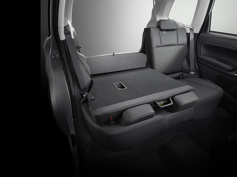 Forester folding rear seats 60/40 split