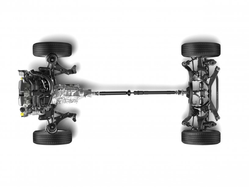Forester All Wheel Drive Drivetrain