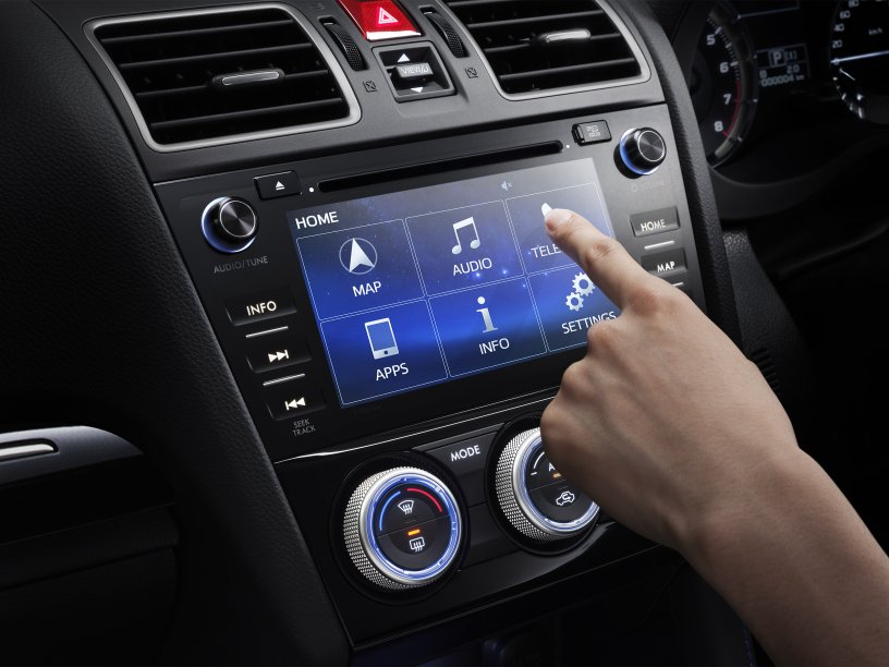 Subaru Levorg touch screen