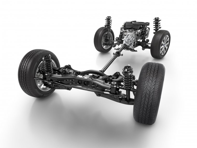 Outback All Wheel Drive Drivetrain