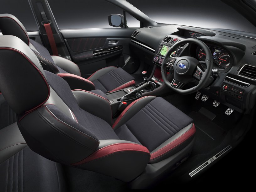 WRX STI Premium leather interior
