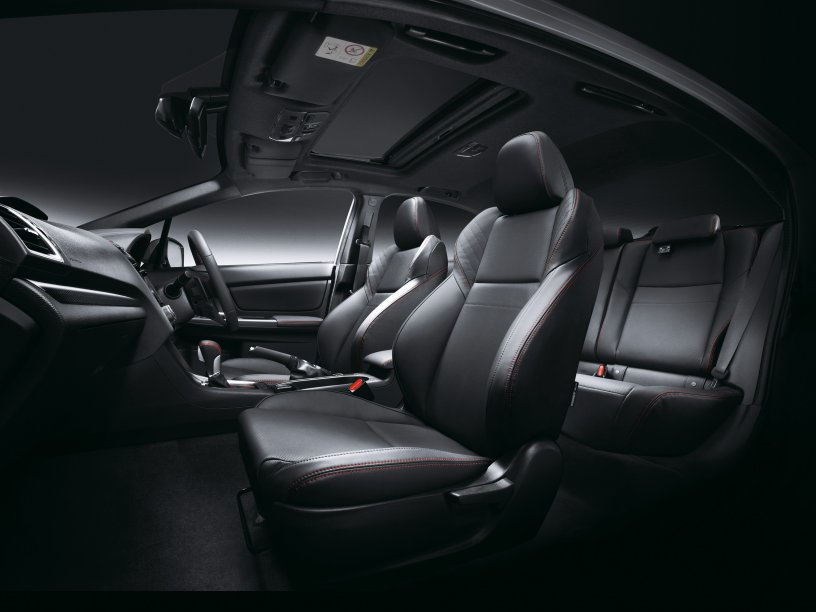 2016 WRX Premium leather interior